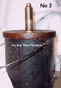 Wax injector in pot